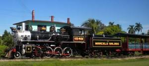 Remedios Steam Train Ride Cuba